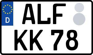 Der amtliche Weg zum Wunschkennzeichen in Alfeld (Leine)