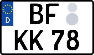 amtliches Eurokennzeichen Burgsteinfurt