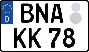 Die besten Wunsch-Kennzeichen in Borna