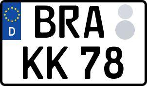 Der amtliche Weg zum Wunschkennzeichen in Brake (Unterweser)
