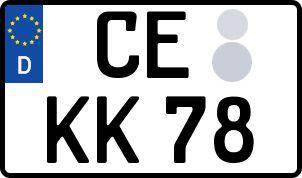 Der amtliche Weg zum Wunschkennzeichen in Celle