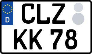So erhält man sein persönliches Wunschkennzeichen in Clausthal-Zellerfeld