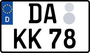 Der amtliche Weg zum Wunschkennzeichen in Darmstadt