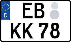 Die besten Wunsch-Kennzeichen in Eilenburg