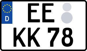 Die besten Wunsch-Kennzeichen in Elbe-Elster
