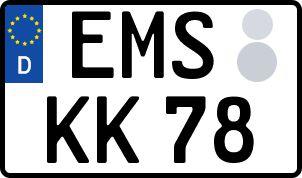 So erhält man sein persönliches Wunschkennzeichen in Bad Ems