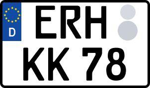 Die besten Wunsch-Kennzeichen in Erlangen-Höchstadt