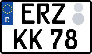 Die besten Wunsch-Kennzeichen in Erzgebirge