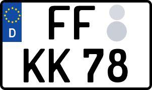 Der amtliche Weg zum Wunschkennzeichen in Frankfurt