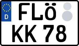 Der amtliche Weg zum Wunschkennzeichen in Flöha