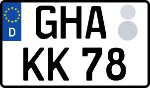 amtliches Eurokennzeichen Geithain