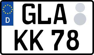 Der amtliche Weg zum Wunschkennzeichen in Gladbeck