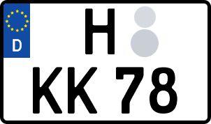 Der amtliche Weg zum Wunschkennzeichen in Hannover