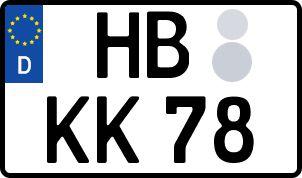 Die besten Wunsch-Kennzeichen in Hansestadt Bremen