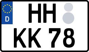Die besten Wunsch-Kennzeichen in Hansestadt Hamburg