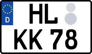 Der amtliche Weg zum Wunschkennzeichen in Hansestadt Lübeck