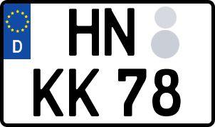So erhält man sein persönliches Wunschkennzeichen in Heilbronn