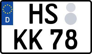 Vorgang zum Wunschkennzeichen in Heinsberg
