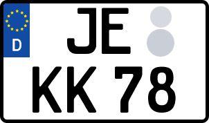 Vorgang zum Wunschkennzeichen in Jessen (Elster)