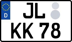 amtliches Eurokennzeichen Jerichower Land