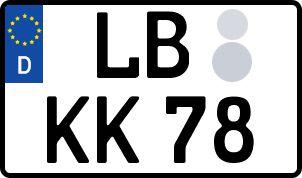 Die besten Wunsch-Kennzeichen in Ludwigsburg