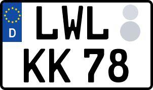 Der amtliche Weg zum Wunschkennzeichen in Ludwigslust