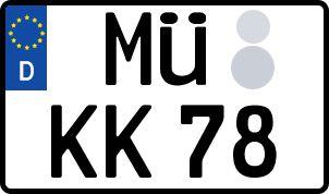 So erhält man sein persönliches Wunschkennzeichen in Mühldorf am Inn
