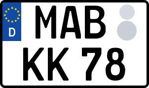 Die besten Wunsch-Kennzeichen in Marienberg