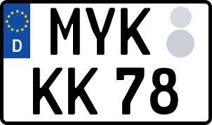 Der amtliche Weg zum Wunschkennzeichen in Mayen-Koblenz