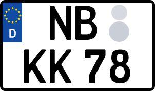 Die besten Wunsch-Kennzeichen in Neubrandenburg