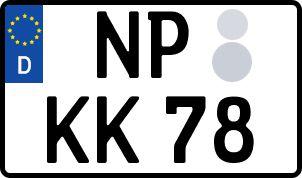Der amtliche Weg zum Wunschkennzeichen in Neuruppin