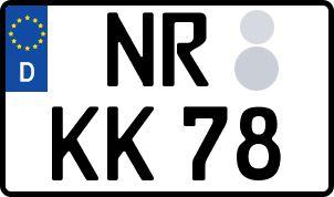 Der amtliche Weg zum Wunschkennzeichen in Landkreis Neu-Ulm