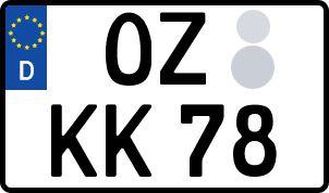 Die besten Wunsch-Kennzeichen in Oschatz