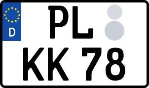 Die besten Wunsch-Kennzeichen in Plauen