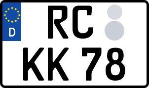 Der amtliche Weg zum Wunschkennzeichen in Reichenbach im Vogtland