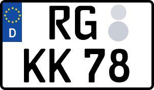 Der amtliche Weg zum Wunschkennzeichen in Riesa-Großenhain