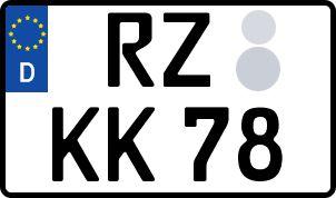 Die besten Wunsch-Kennzeichen in Ratzeburg
