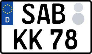 So erhält man sein persönliches Wunschkennzeichen in Saarburg
