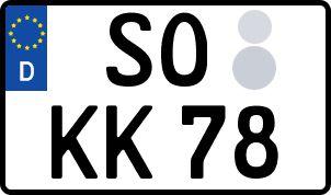 Der amtliche Weg zum Wunschkennzeichen in Soest