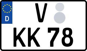 Die besten Wunsch-Kennzeichen in Vogtland
