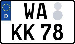 Der amtliche Weg zum Wunschkennzeichen in Waldeck