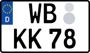 Vorgang zum Wunschkennzeichen in Wittenberg
