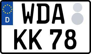 Die besten Wunsch-Kennzeichen in Werdau