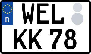 Der amtliche Weg zum Wunschkennzeichen in Weilburg