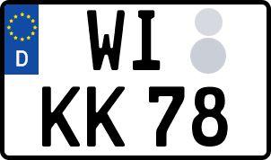 So erhält man sein persönliches Wunschkennzeichen in Wiesbaden