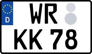 Der amtliche Weg zum Wunschkennzeichen in Wernigerode