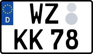 amtliches Eurokennzeichen Wetzlar